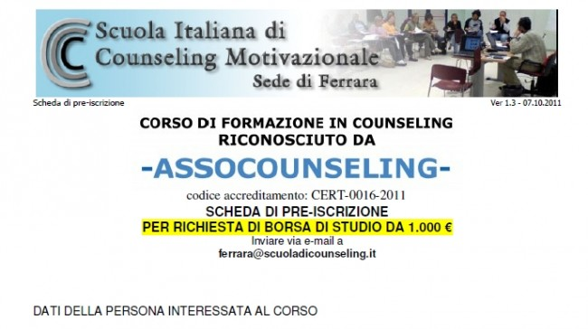 counseling motivazionale